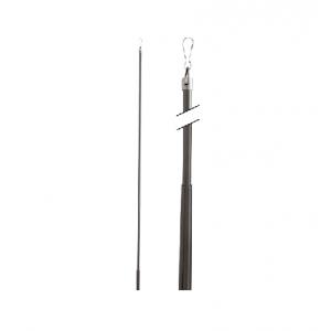 "Aria 48"" Drapery Pull Rod~Metal Baton Fling Wand"