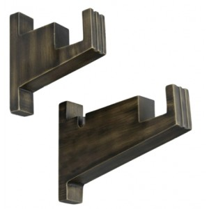 East Village Urban Bronze Bracket~Pair