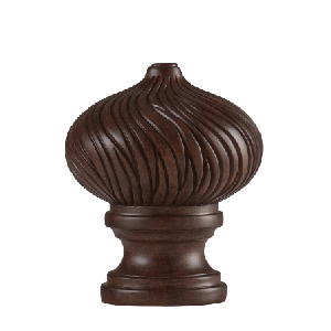 Bellamy Finial - Walnut