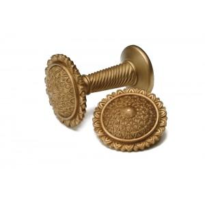 Antique Gold Decorative Holdaback~Pair