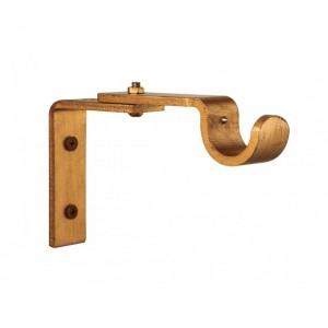 "Adjustable Steel Bracket for 1 3/4"" Curtain Rod~Each"