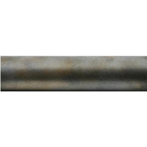 "4"" Metal Pole for 1"" Curtain Rod~Each"