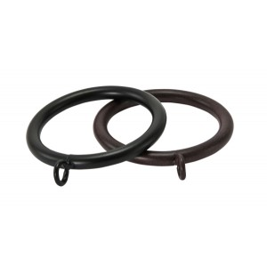 "Curtain Rings for 1 1/2"" Curtain Rod~Box of 50"