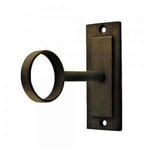 "Ceiling or Wall Bracket for 1 1/4"" Curtain Rod~Each"