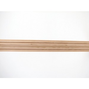 4' Fluted Wood Pole