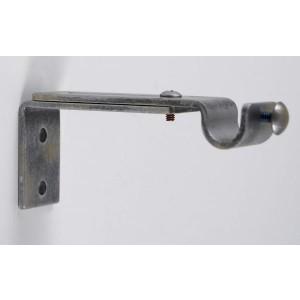 """Adjustable Single Bracket for 1/2"""" Curtain Rod~Each"""