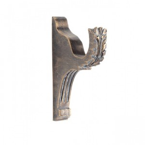 """DB76 Bracket for 2"""" or 2 1/4"""" Curtain Rods~Each"""