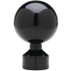 """Ball Finial for Deventer 1 1/8"""" Traverse H-Rail~Each"""
