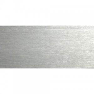 "4' Steel Rectangular Curtain Rod~1 1/2"" H x 3/8"" Deeo"
