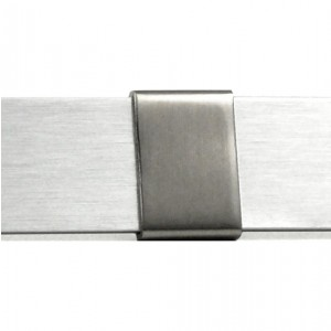 External Curtain Rod Splice Cover for Rectangular Drapery Rods~Each