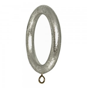 """Smooth Drapery Ring for 2"""" Curtain Rod~4 Pack"""
