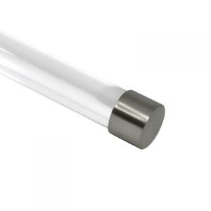 "Steel Endcap for 1 1/8"" Curtain Rod~Each"