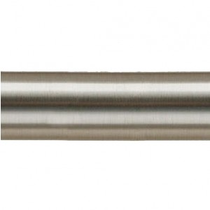 "47 1/4"" Steel Curtain Rod Pole~1 1/8"" Rod Diameter"