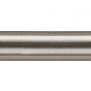 "47 1/4"" Steel Curtain Rod Pole~1 1/8"" Rod Diameter"