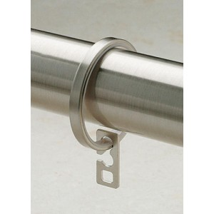 "Steel Ring for 1 1/8"" Curtain Rod~Each"