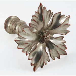 Water Gilded Roi Tieback Rosette with Post~Each