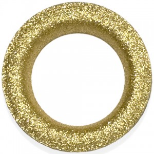 Glitter Gold #12 Grommet - Designer Finish~Each