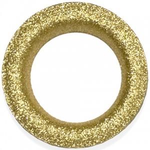Glitter Gold #12 Grommet - Designer Finish~Each