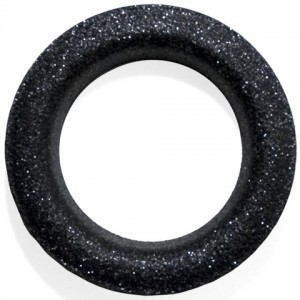 Glitter Graphite #12 Grommet - Designer Finish~Each
