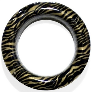 Zebra #12 Grommet - Designer Finish~Each