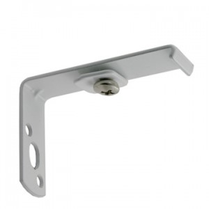 """Eco-Deco Wall Bracket for 3/4"""" Square Track~2"""" Projection~Each"""