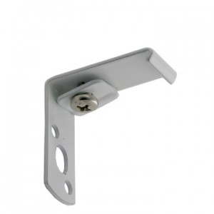 """Eco-Deco Wall Bracket for 3/4"""" Square Track~1 1/8"""" Projection~Each"""