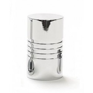 """Element Finial for 1 1/2"""" Rod~Polished Chrome~Each"""