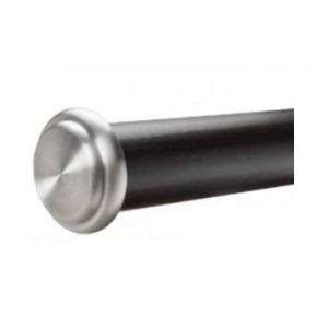 "End Cap Single Curtain Rod Set ~ 2"" Diameter"