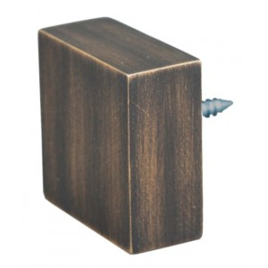 Quad Urban Bronze End Cap~Each