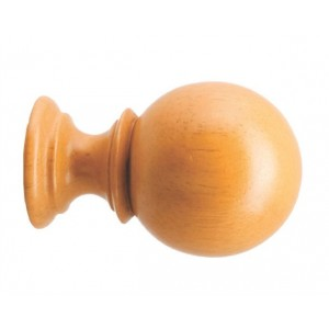 Gould Ball Curtain Rod Finial For 1 3 8 Wood Drapery RodsEach