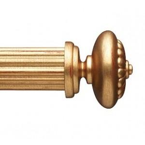 """Zara Finial for 2 1/4"""" Curtain Rod~Each"""