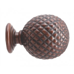 "Gould 5th AVE Finial for 2"" & 2 1/4"" Rod Diameter~Each"