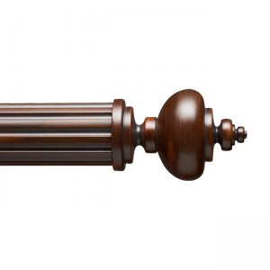 "F300-1 Finial for 3"" Curtain Rod~Each"