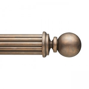 "F300-2 Finial for 3"" Curtain Rod~Each"