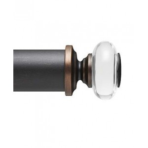 "F300-4C Finial for 3"" Curtain Rod~Each"