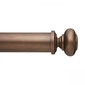 "F300-4S Finial for 3"" Curtain Rod~Each"