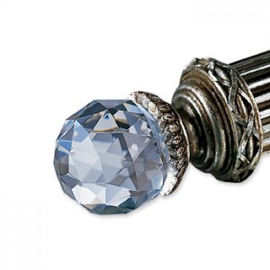 Faceted Crystal Finial ~ Pair
