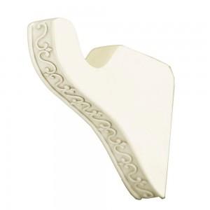 "Fleur Bracket for 1 3/8"" Curtain Rod~Pair"