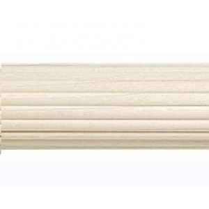 """Reeded Wood Pole for 2"""" Diameter (by the foot)"""