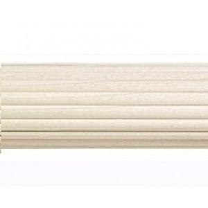 """Reeded Wood Pole: 2 1/4"""" Diameter"""