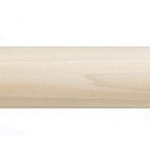 """Smooth Wood Pole: 2"""" Diameter (by the foot)"""