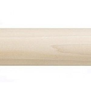"Smooth Wood Rod: 2 1/4"" Diameter"