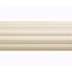 """Wide Reeded Wood Pole: 2 1/4"""" Diameter"""