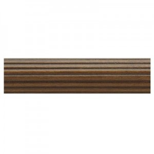 "Kirsch 1 3/8"" Wood Trends Classics Fluted 6' Wood Pole"