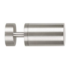 """Stainless Steel Rollenbild Finial for 1 3/16"""" Curtain Rods~Each"""