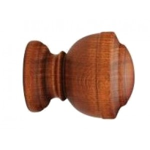 """Forest Calice Finial for 1 3/8"""" Wood Drapery Rod"""