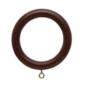 """Forest Wood Ring for 1 3/8"""" Drapery Rod"""