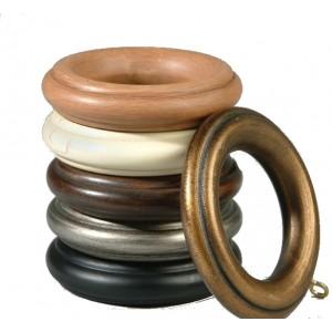"Fortunato 1 3/8"" Wood Ring"