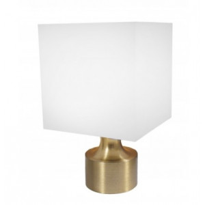 """Frosted Block Finial for 1 1/8"""" Rod Diameter ~ Each"""