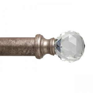 "GB2 Finial for 2"" Curtain Rod~Each"